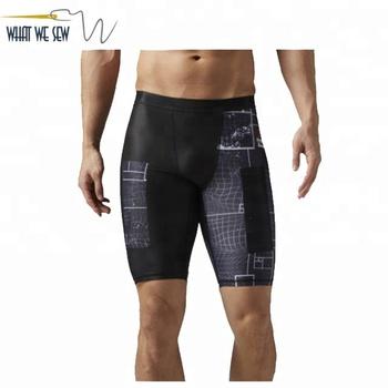 a865facfb5 Custom Compression Shorts Cross Fit hombres al por mayor pantalones cortos  de Lycra de compresión