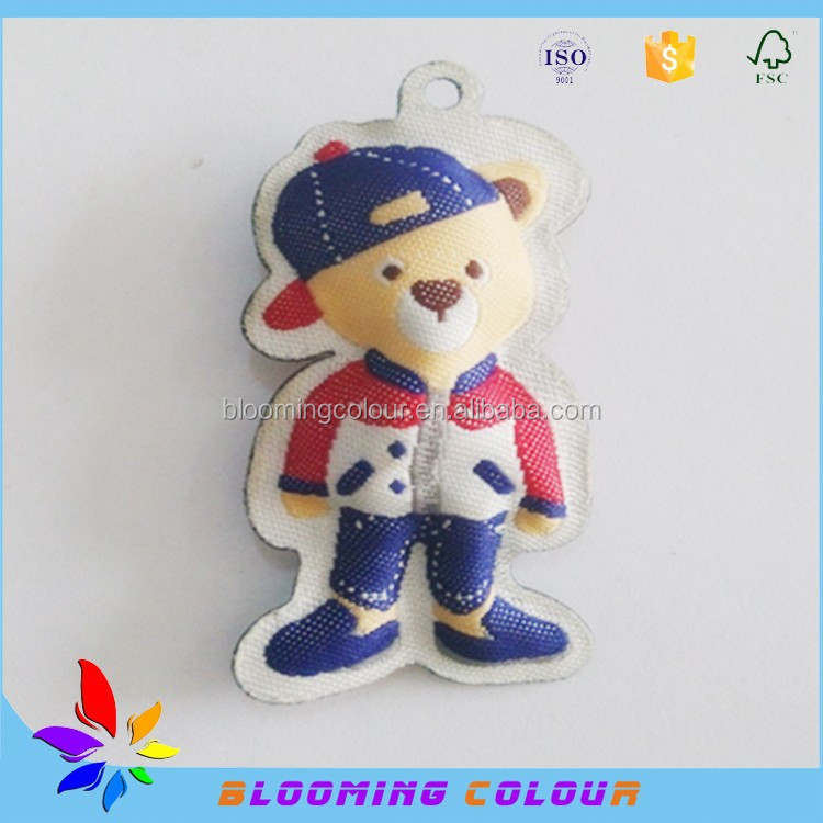 Factory price custom kids clothes filling cotton label