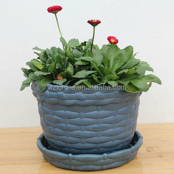 en plastique des pots de fleurs plante de jardin pots petits pots de fleurs pour la maison et. Black Bedroom Furniture Sets. Home Design Ideas