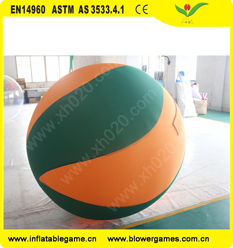 Hot sale summer beach air tight inflatable ball grame giant volleyball