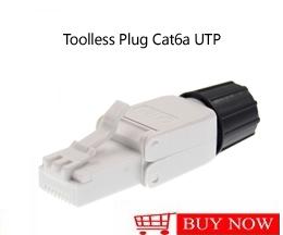 Toolless 8p8c Cat.6 Anschlüsse UTP RJ45 Werkzeug-weniger Katze 6 Modular Stecker Stecker