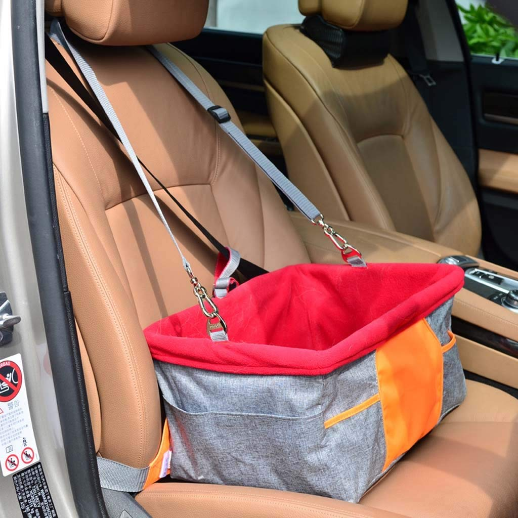 Pet Car Seat Cover-Oxford Fabric Waterproof Car Back Seat Protector Pet Mat,Dog Seat Cover Suitable For Most Cars