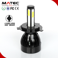 Super bright car led head lighting automotive motorcycle headlight for led headlight bulb 9007 H4 H7 G20 4000LM