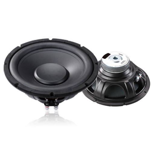 "12"" spl car subwoofer speaker with black almunium basket and 2000w rms power competition car subwoofer"