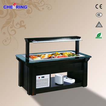 Hotel Used Commercial Salad Bar Equipment 182010501380MM
