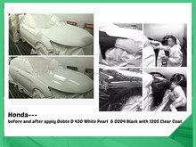 Acrylic Main Raw Material and Spray Application Method Car/Automotive/Auto Paint Clear Varnish