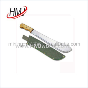 Superior quality sugarcane machete cutlass knife made in China
