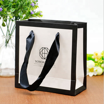 Paper Bags With Your Own Logo Custom Paper Gift Bag