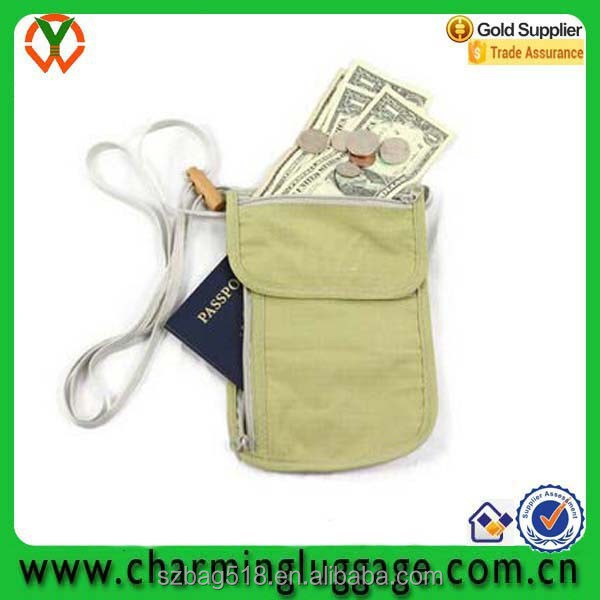 china supplier manufacturer price custom personalized hanging travel neck rfid passort holder