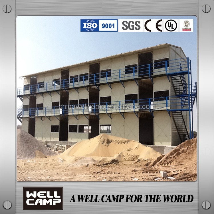 China NO.1 Brand For The Labour Camp Factory Supply Modular steel Building/Prefab House/Mobile Home