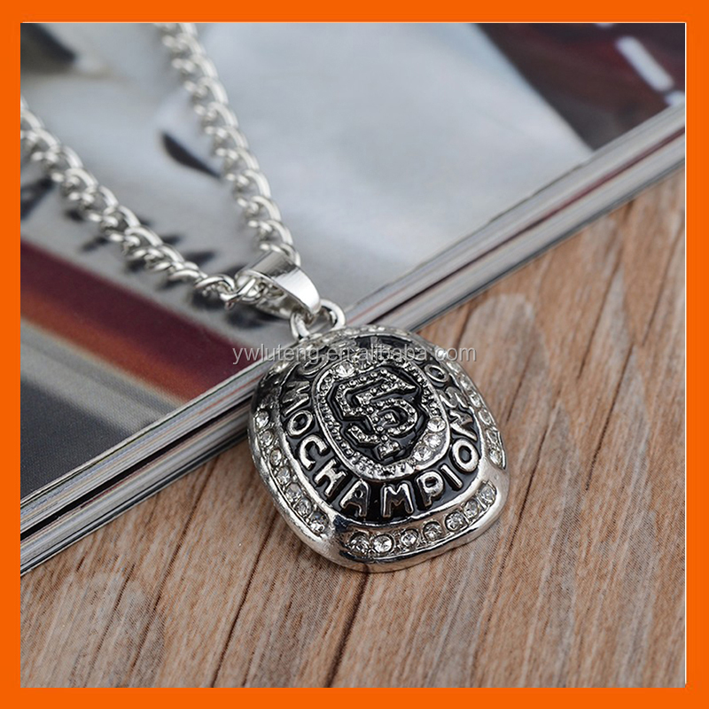 LT JEWELRY REPLICA NEWEST DESIGN 2010 SAN FRANCISCO GIANTS MAJOR LEAGUE BASEBALL CHAMPIONSHIP NECKLACE