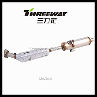 Euro IV Ceramic Honeycomb catalytic converter for MAZDA 6