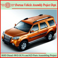 Not Used Mercedes Benz or Nissn SUV But Diesel New Right Hand Drive China SUV Cars