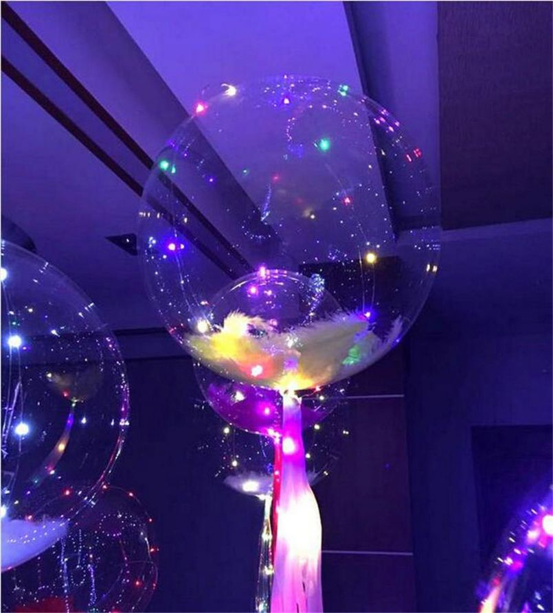 Popular Bobo Ball Christmas Hot Decoration Led Ballon Line String Light