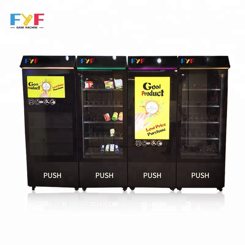 Fyf Smart Electronic Combo Vending Machines Touch Screen Vending