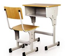 plywood top and metal frame detachable used school desk and chair singapore for sale