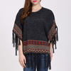 Fashion European Retro Style Loose Pullover Knitting Sweater For Women