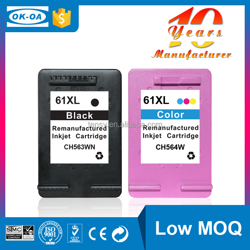 refillable inks cartridge CH561WN for hp 61 BK direct buy china