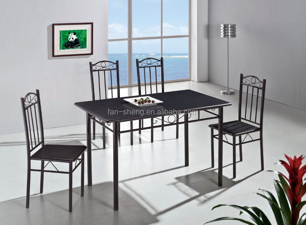 made in china cheap 4 in 1 dining table sets modern dining