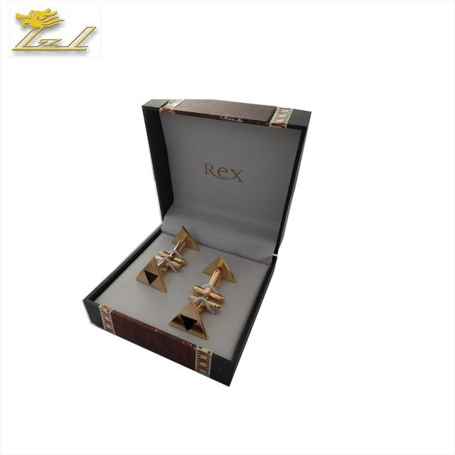 Popular Cufflink Storage Box Brass Enamel Cufflink