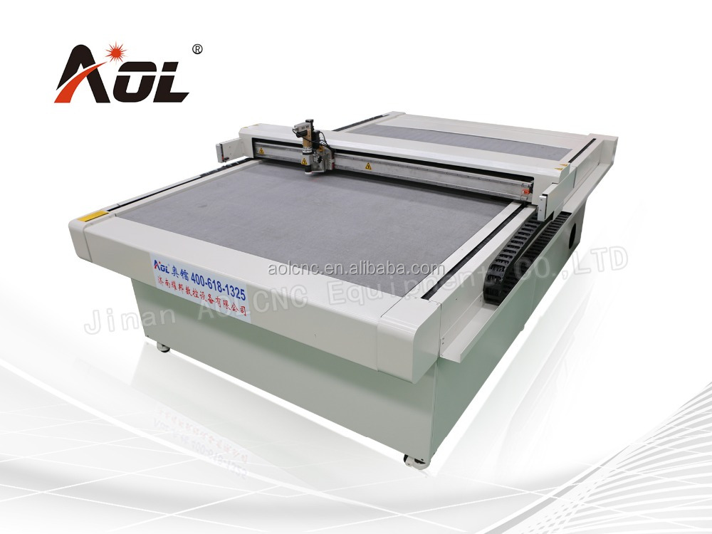Vertical Vibrating Knife CNC Contour Shapes Mattress Foam Cutting Machine/Cutting Plotter/AOL Brand