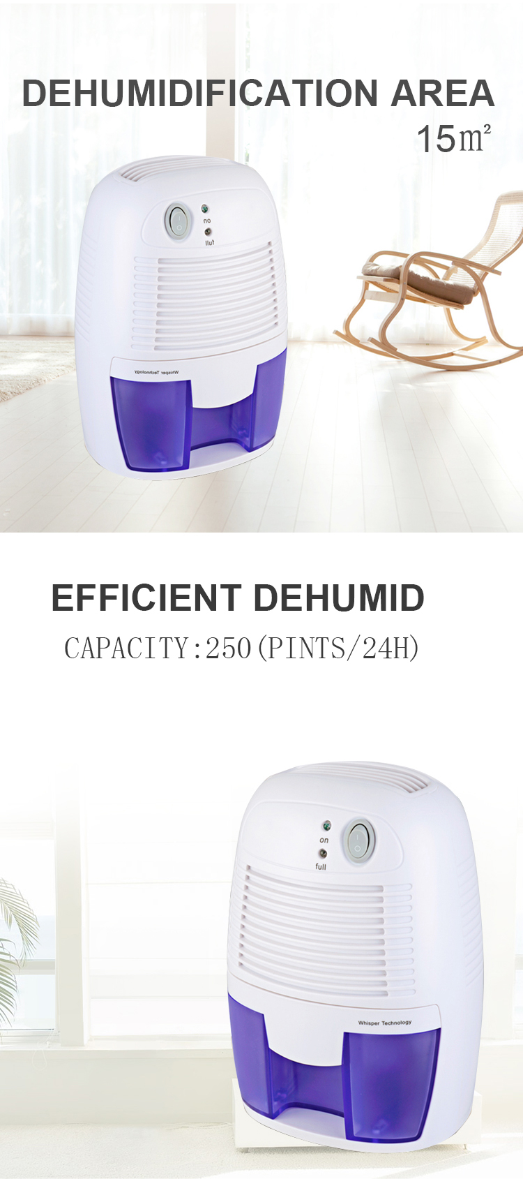 2018 trending chamber baby room micro Portable car home mini dehumidifier