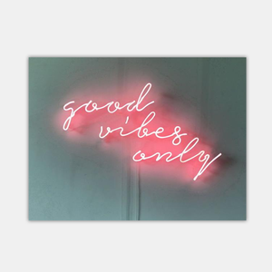 neon light sign for bed room