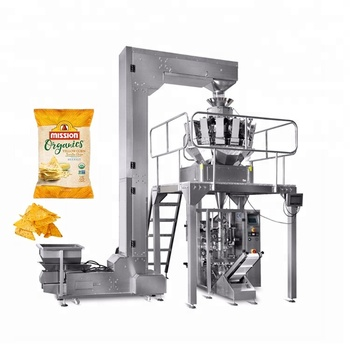 Automatic Multihead Weigher Tortilla Chips Packaging Machine