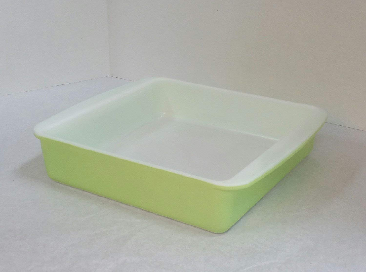 Get Quotations Vintage Pyrex 222 Square Baking Dish 8 Inches Light Green