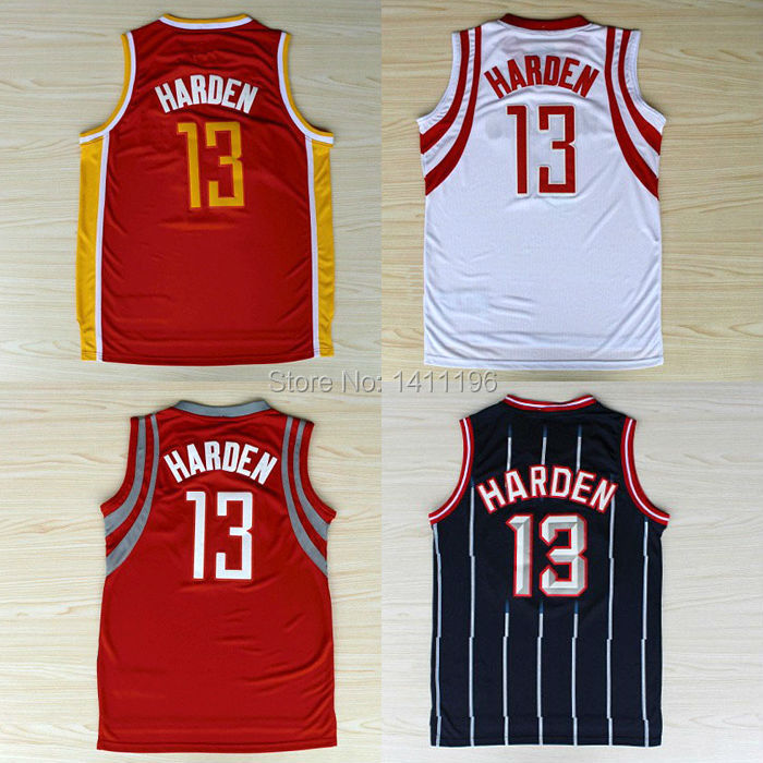 best service 7c6ba 05b56 New Houston #13 James Harden Basketball jersey Red, White ...