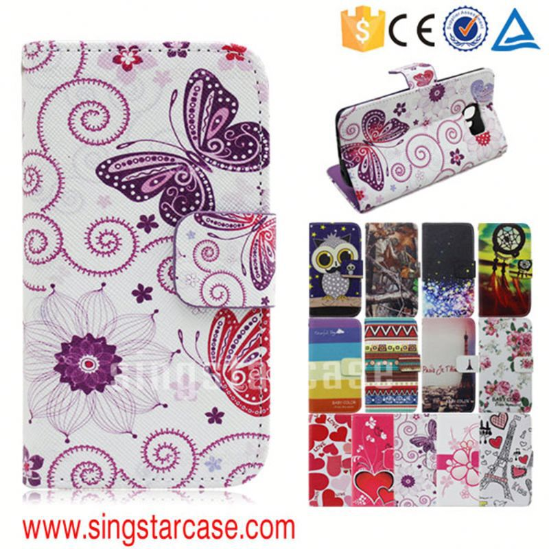 china supplier mobile accessories for alcatel one touch pop d3 4035 4035x flip cover case cover