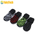 Breathable Dog Boots for Summer - Waterproof Pet Shoes Anti Slip Reflective Paw Protector for Medium and Large Dogs