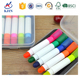 5 colors novelty highlighter pens/mini highlighter crayon
