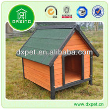 Apex roof dog cage kennel house crate DXDH011