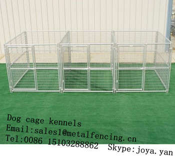 Pet Running Cage Kennels Double Dog Kennels Fence Panels Indoor Dog ...