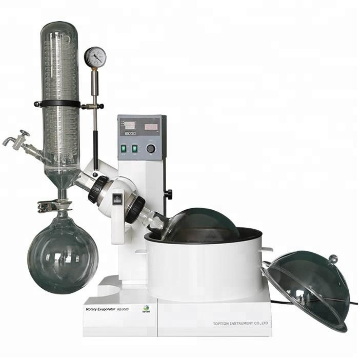 RE-5000 high quality Top Vacuum 5L Rotary Evaporator