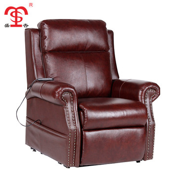 Modern american style red leather sectional recliner sofa, View italy  leather recliner sofa, SHENGXING Product Details from Anji Shengxing Office  ...
