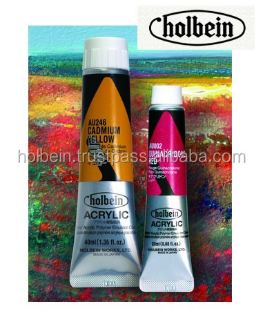 Unique and High quality Holbein Acrylic Paints for personal use , small lot oder also available