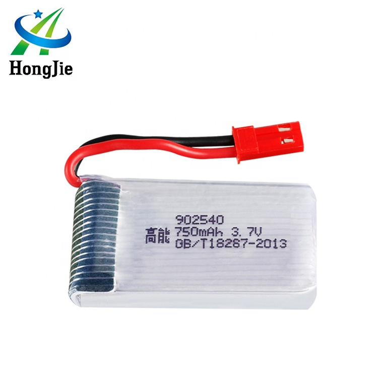3.7v 750mah lipo <strong>battery</strong> JST plug 902540 for MJX X400 X500 X300C X800 HJ818 HJ819 rc quadcopter SY X25 CG038 rc car