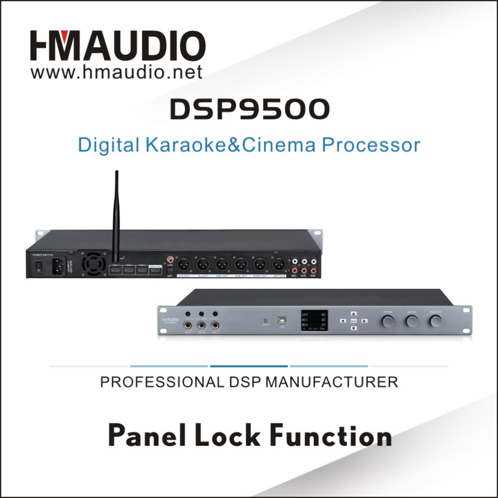 DSP9500 Wholesale sound system 5.1 audio decoder
