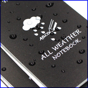 All-weather Waterproof Spiral Notebooks/Pocket Field Notes/Notebook/Notepad/Shower/Aqua Notes