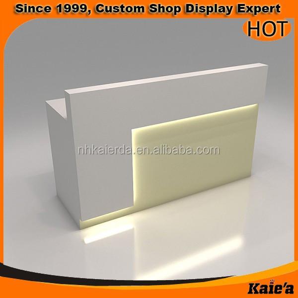 Fashion Wood Cash Counter Design,Shop Cash Counter Design
