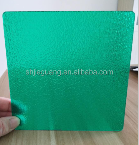 Solid polycarbonate sheet embossed pc panels factory price