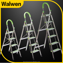 easylife steel safety 4 step ladder,4 step ladder with safety rail,portable steps with handrail