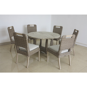 Promotion Hotel commercial sofa set white rattan outdoor furniture and swivel glider chair