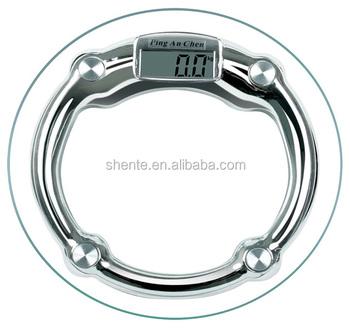 tempered glass digital bathroom scale 150kgs