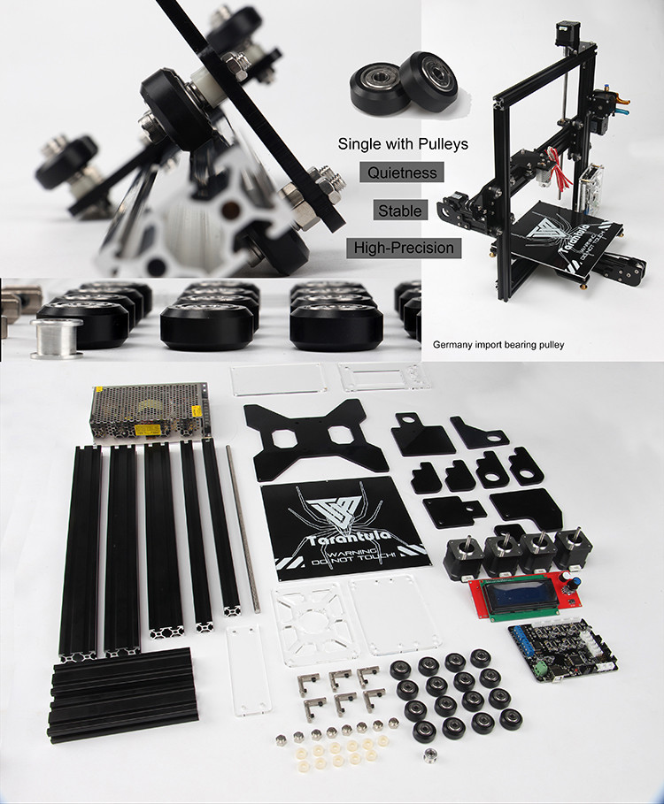 Digital 3D printer Diy 3D printer kit guide diy kit Prusa i3 TEVO Tarantula 3D Printer