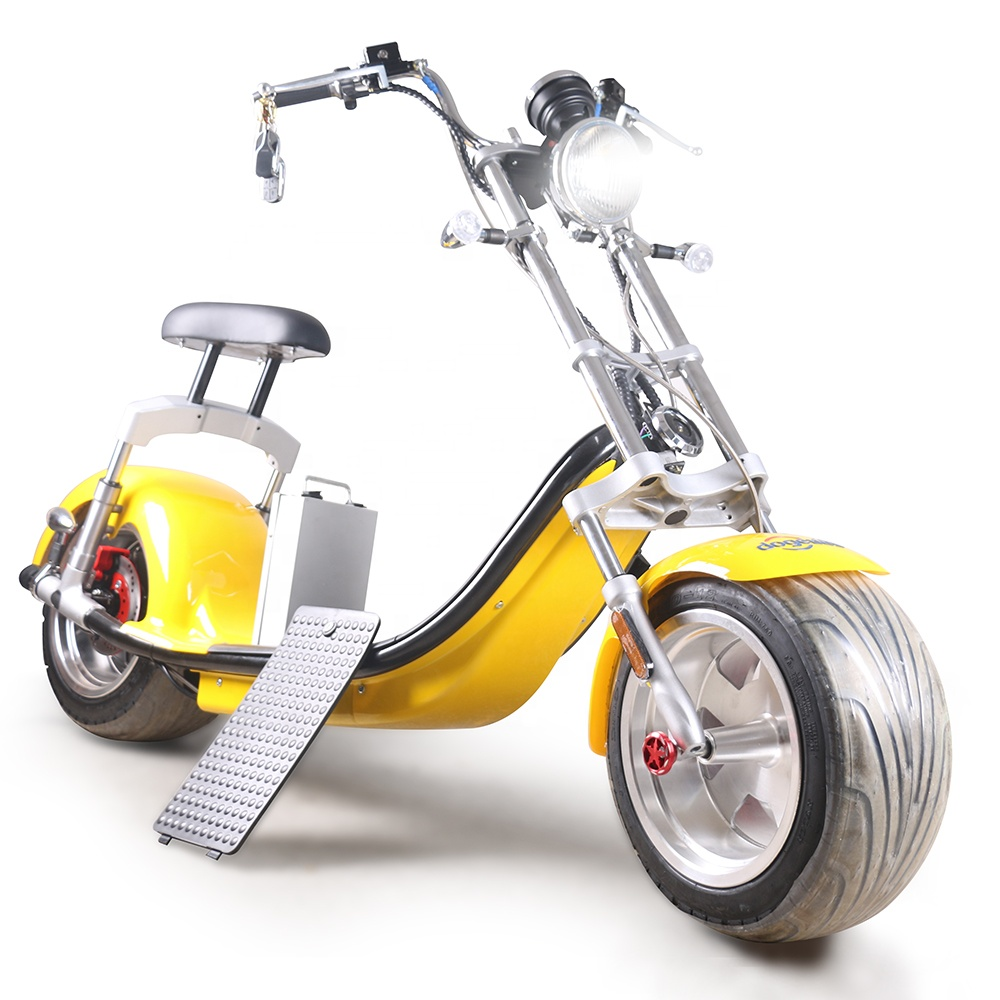 European Warehouse Stock Citycoco Scooter 2000W Adult Electric Motorcycle with 75KM/H EEC/COC, Customized