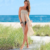 D2535 Two Ways To Wear See Through Sexy Bikini Swimwear Bathing Suit Cover Up Beach Dress