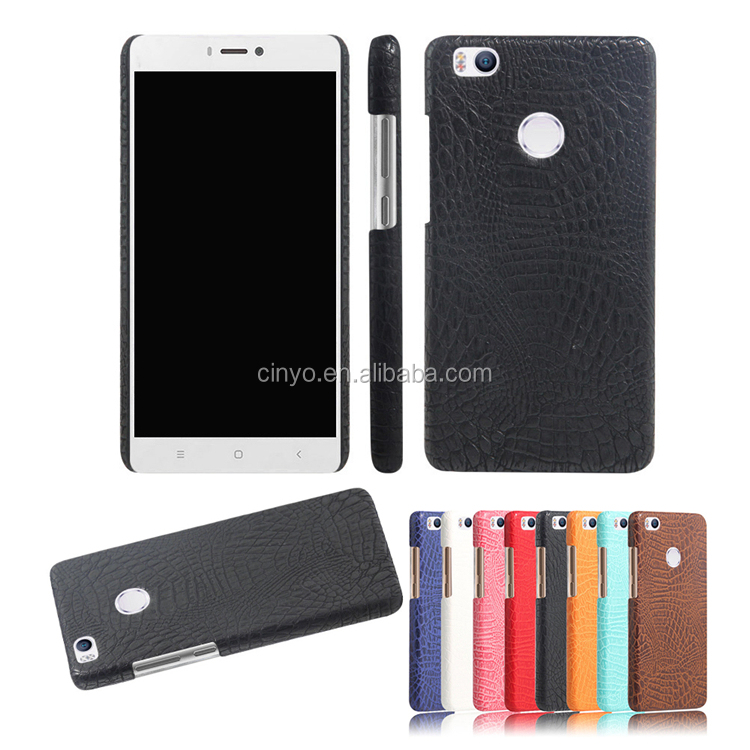 for Xiaomi Mi 4s case cover, for Xiaomi Mi 4s hard case back cover with croco leather design